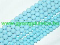 Matt Kék Jade Ásványgyöngy 10mm