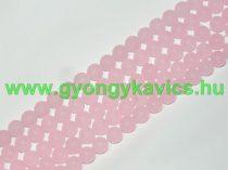 Matt Rózsaszín Pink Jade Ásványgyöngy 6mm