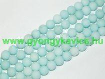 Matt Türkiz Türkizkék Jade Ásványgyöngy 10mm