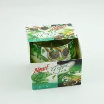Mentás Zöld Tea Poharas Illatgyertya