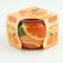 Narancs Illatú Poharas Illatgyertya