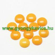 Narancssárga Jade Kaboson 10mm