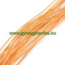 Narancssárga (3) Kalapgumi 0.8mm 1m