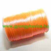 Narancssárga-Korall (89) Szatén Szál Poliészter Szál 2.0mm 2mm 1m