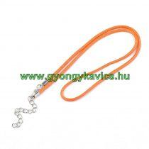Narancssárga (6) Kord Nyaklánc 46cm