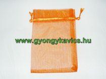 Narancssárga Organza Díszzacskó Dísztasak 15x10cm