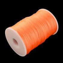 Narancssárga (80) Szatén Szál Poliészter Szál 2.0mm 2mm 1m
