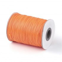 Narancssárga (12) Viaszolt Kordszál 1.0mm 1m