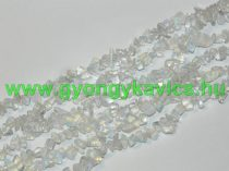 Opalit Ásványtörmelék Ásványgyöngy Gyöngyfüzér 5-8mm 84cm