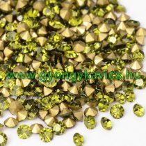 Peridot Zöld (5) Strassz Csomag 2mm (~400-500db)