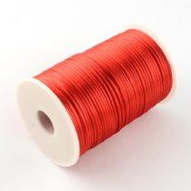 Piros (74) Szatén Szál Poliészter Szál 2.0mm 2mm 1m