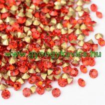Piros (2) Strassz Csomag 2mm (~1440 db)