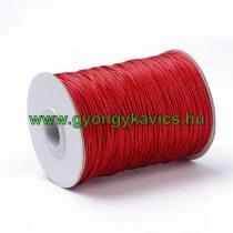 Piros (56) Viaszolt Kordszál 0.8mm 1m