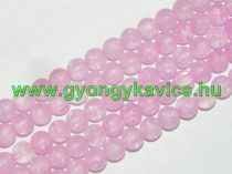 Roppantott Rózsaszín (2-es típus) Üveg Hegyikristály Másolat Gyöngy 8mm
