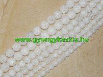Roppantott Üveg Hegyikristály Másolat Gyöngy Gyöngyfüzér 8mm