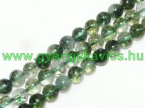 Roppantott Zöld Hegyikristály Ásványgyöngy Gyöngyfüzér 8mm