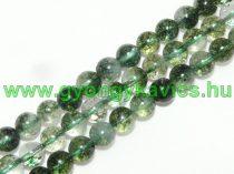 Roppantott Zöld Hegyikristály Ásványgyöngy 8mm