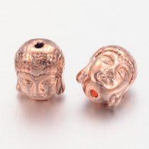 Rózsaarany Színű Buddha Nyaklánc Karkötő Ékszer Dísz Közdarab Köztes 11mm