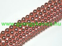 Rózsaarany Hematit Ásványgyöngy Gyöngyfüzér 10mm