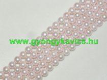 Rózsaszín Kagyló Gyöngy 10mm