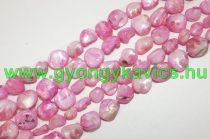 Rózsaszín Kagyló Törmelék Gyöngy Gyöngyfüzér 4-18mm