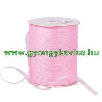 Rózsaszín (5) Organza Szalag 6mm 1m