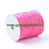 Rózsaszín Pink (121) Viaszolt Kordszál 2.0mm 2mm 1m