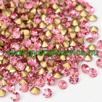 Rózsaszín (1) Strassz Csomag 2mm (~400-500db)