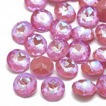 Rózsaszín Strassz Kaboson (kúpos hátoldalú) 8mm