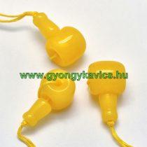 Sárga Jade Guru Gyöngy 21x11mm