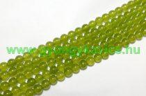 Sárgászöld Jade Ásványgyöngy 6mm