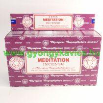 Satya Meditation Meditáció Füstölő
