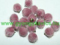 Sötét Rózsaszín Pom Pom 12mm