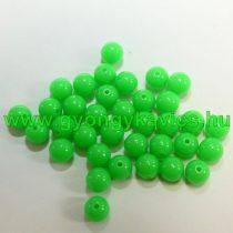 Sötétzöld Műanyag Gyöngy Nyaklánc Karkötő Ékszer Dísz Közdarab Köztes 6mm
