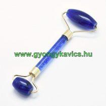 Szintetikus kék Kvarc Arany Színű Masszázs Henger, Masszírozó Görgő