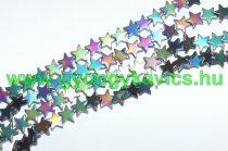 Szivárvány Hematit Csillag Ásványgyöngy Gyöngyfüzér 8x2mm