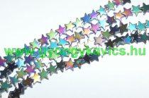 Szivárvány Hematit Csillag Ásványgyöngy 8x2mm
