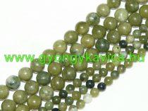 Taiwani Tajvani Zöld Jade Ásványgyöngy 6mm