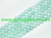 Türkiz Türkizkék Jade (világos) Ásványgyöngy 10mm