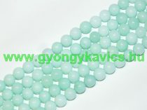 Türkiz Türkizkék Jade (világos) Ásványgyöngy 8mm