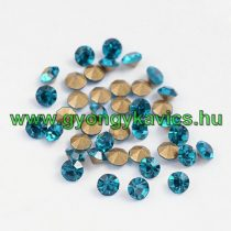 Türkiz Kék (4) Strassz Csomag 2mm (~400-500db)