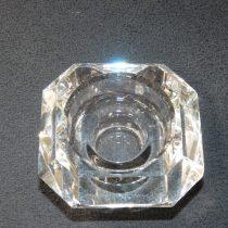 Üveg Gyertyatartó Négyzet 6,7x3,4cm