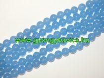 Világoskék Jade Ásványgyöngy 12mm