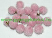 Világos Rózsaszín Pom Pom 12mm