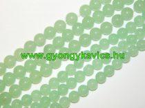 Világoszöld Jade Ásványgyöngy 10mm