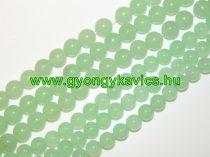 Világoszöld Jade Ásványgyöngy 6mm