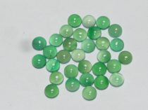 Zöld Achát Kaboson 8mm