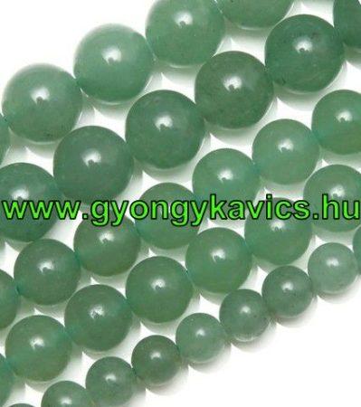 Zöld Aventurin Ásványgyöngy Gyöngyfüzér 10mm