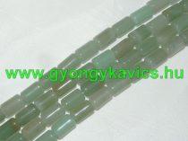 Zöld Aventurin Ásványgyöngy 10x6mm