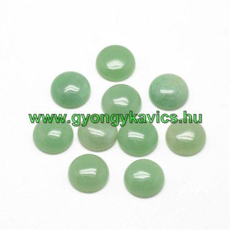 Zöld Aventurin Kaboson 8mm